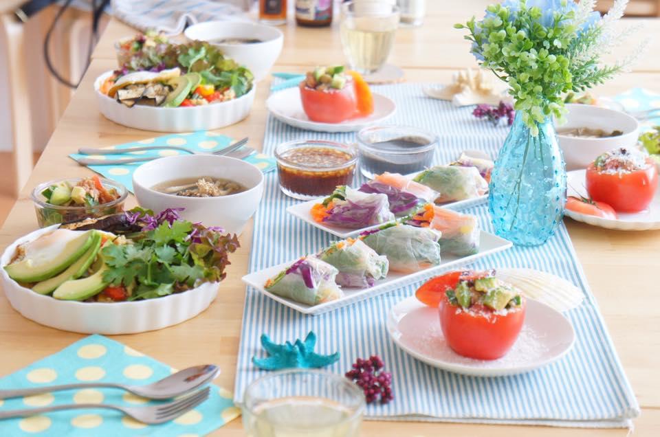 料理教室|栄養学|しあわせごはん講座|管理栄養士|藤橋ひとみ