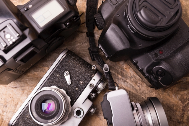 カメラ 一眼レフ ミラーレス 画像