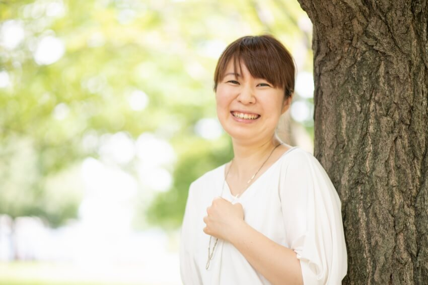 石田房子|フリーランス管理栄養士|プロフィール写真|レシピ開発|コラム執筆